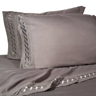 Lejeune Solid Color Sheet Set by House of Hampton Top Reviews