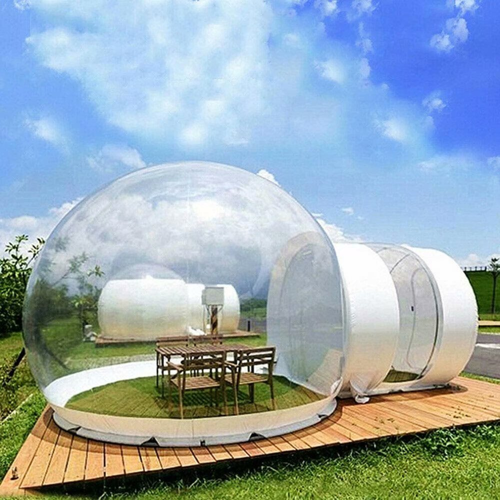 New Brand Outdoor Single Tunnel Inflatable Camping Hiking Bubble Camping Tent