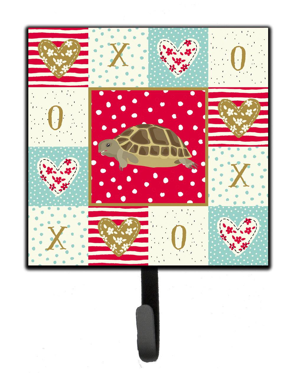 The Holiday Aisle Annandale Turtle Wall Key Organizer With Key Hooks Wayfair