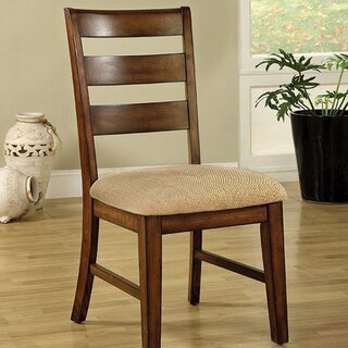 Wikenson Solid Wood Dining Chair (Set of 2) by Loon Peak SKU:EB943300 Description
