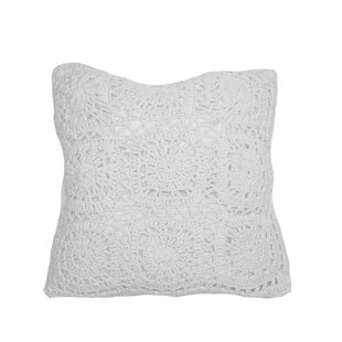 Weimer Crochet Throw Pillow