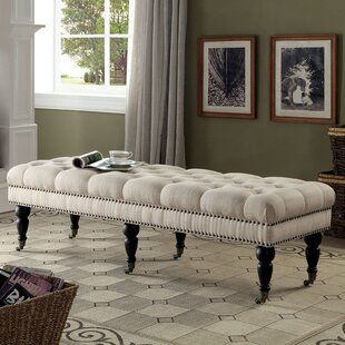 Darby Home Co Sharie Upholstered Bench