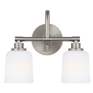 Beachcrest Home Randwick 2-Light Vanity Light