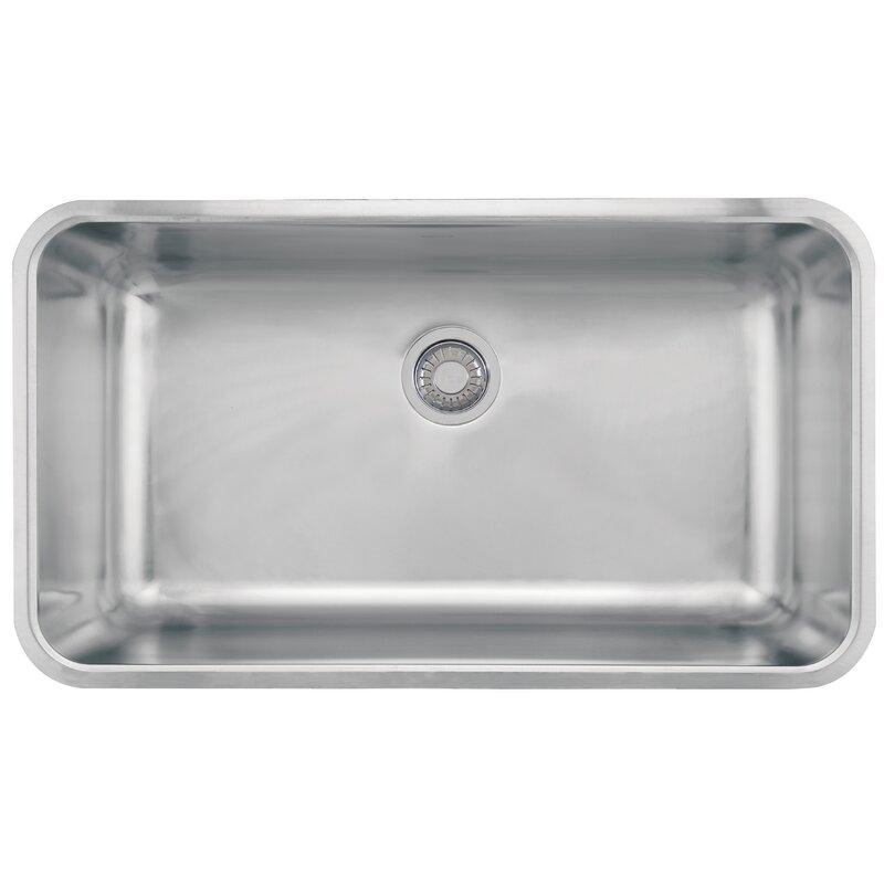 Franke Grande 33 L X 19 W Undermount Kitchen Sink Reviews Wayfair