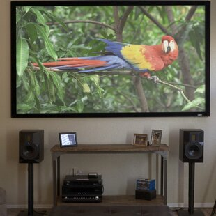 Grey Fixed Frame Projection Screen