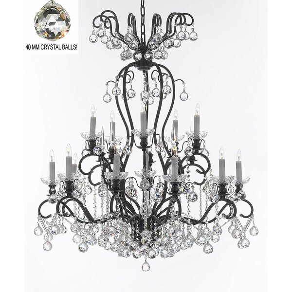 Astoria Grand Maclean 16 Light Candle Style Tiered Chandelier Wayfair