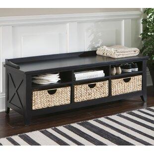Warkentin Wood Storage Bench