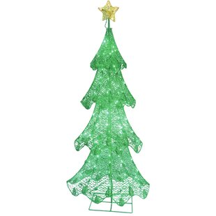 christmas tree with led lights christmas decoration
