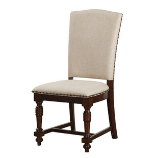 Hawkinson Upholstered Dining Chair (Set of 2) Alcott Hill
