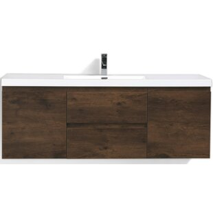 Lina 59 inch  Single Bathroom Vanity Set