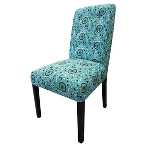 Kacey Suzani Cotton Parson Chair (Set of 2) by Sole Designs