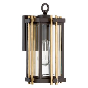 Best Reviews Francois 1-Light Outdoor Wall Lantern By Willa Arlo Interiors