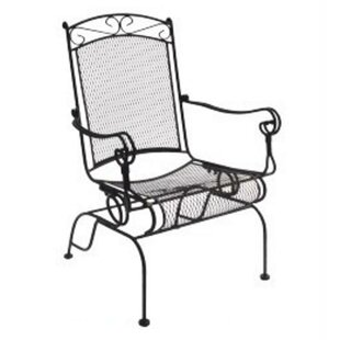 Charleston Wrought Iron High Back Rocking Chair (Set of 2)
