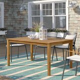 Elaina Solid Wood Dining Table