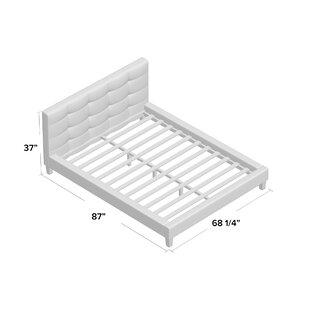 Dorset Kingsize (5') Upholstered Platform Bed By Brayden Studio