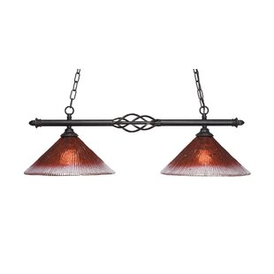 Astoria Grand Pierro 2-Light Kitchen Island Pendant