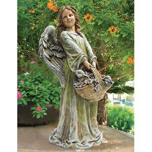 Design Toscano Joy The Flower Angel Statue