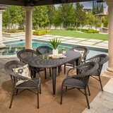 Kuzucuk 7 Piece Outdoor Dining Set