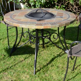 Joyce Stone Wood Burning Fire Pit Table By Sol 72 Outdoor