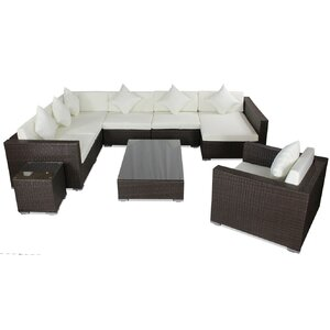 8-tlg. Sofa-Set mit Kissen von IHP24
