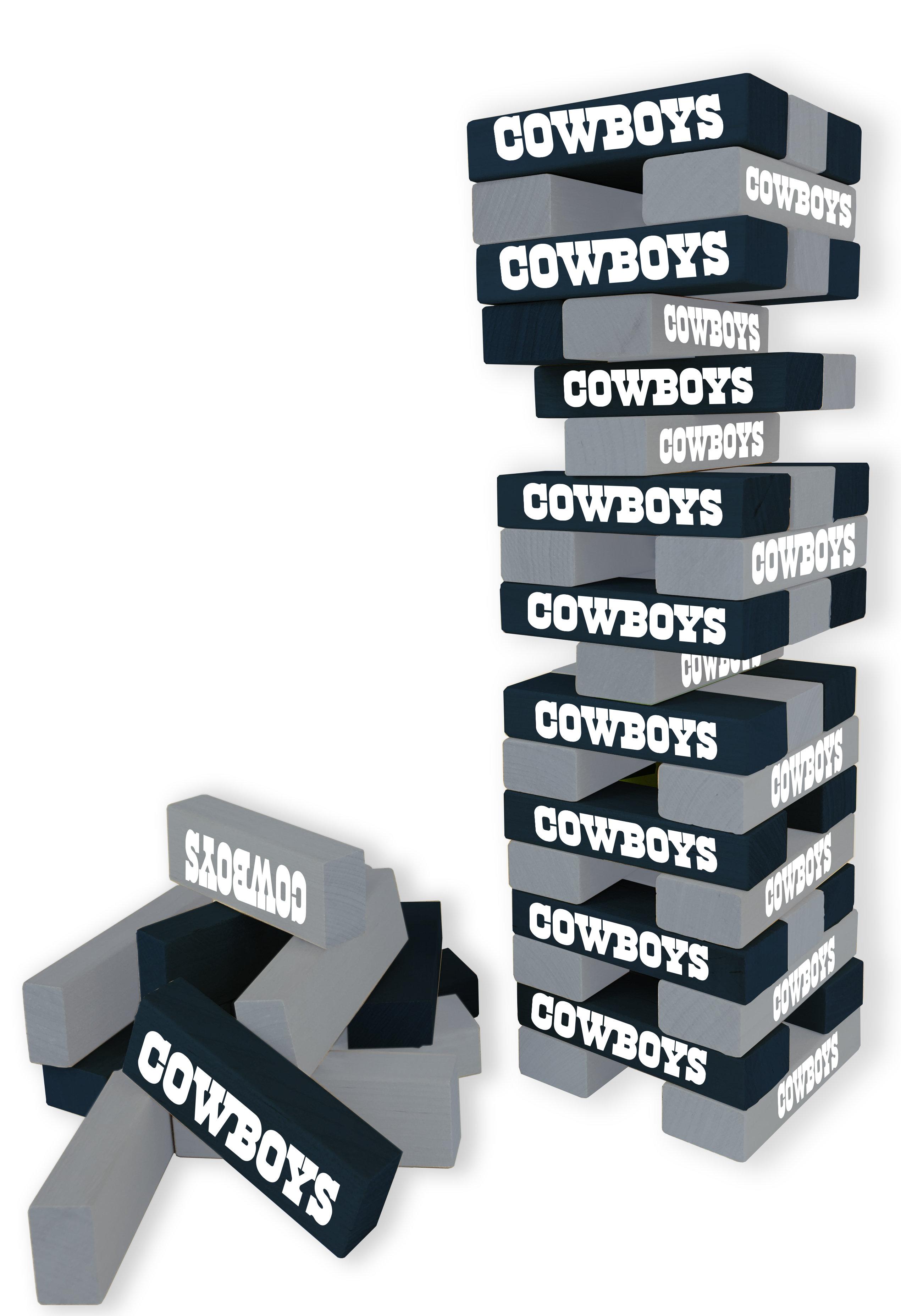 NCAA Football Wild Sports Tabletop Stacking Blocks Game