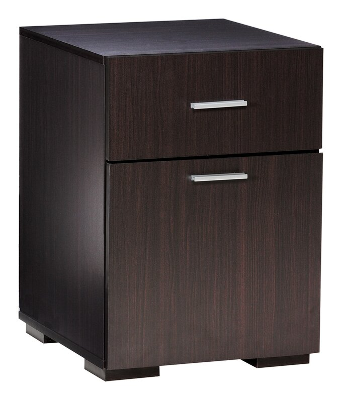 Comfort Products Olivia 2 Drawer Lateral File Cabinet & Reviews ...
