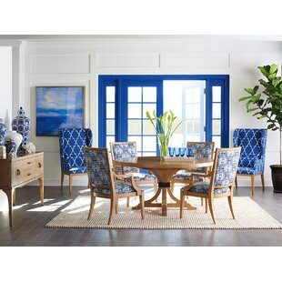 Newport 7 Piece Extendable Solid Wood Dining Set Barclay Butera