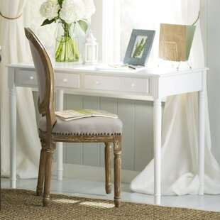 Thetford Solid Wood Writing Desk by Andover Mills
