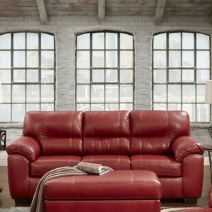 Red Barrel Studio Rainsburg Red Sleeper Sofa