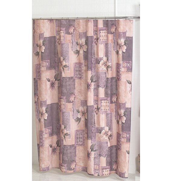 Carnation Home Fashions Magnolia Shower Curtain Reviews