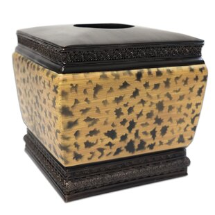 Bloomsbury Market Noack Bathroom Resin Tissue Box Cover