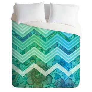 East Urban Home Azul Duvet Cover Set