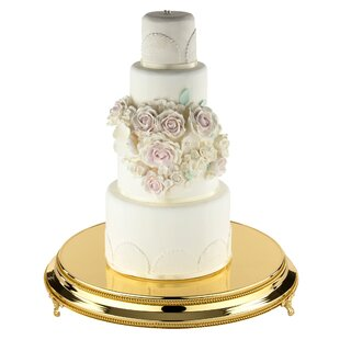 Rose Gold Wedding Cake Stand | Wayfair