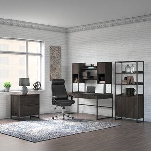 Atria Quiroz 5 Piece Office Set with Hutch