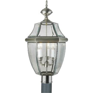 Price comparison Tovey Brass 3-Light Lantern Head By Three Posts