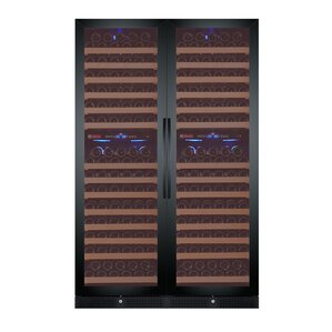 344 Bottle FlexCount Classic Series Four Zone Convertible Wine Cellar by Allavino