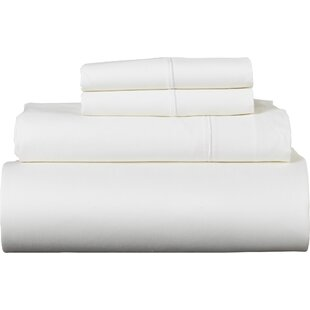 Covertt Solid Color 100% Egyptian-Quality Cotton Sheet Set