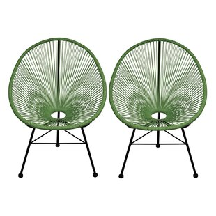 Ringler Papasan Chair (Set of 2)
