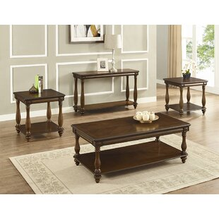 Alcott Hill Goldie Occasional 3 Piece Coffee Table Set