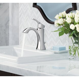 Moen Voss Single Hole Bathroom Faucet with D..