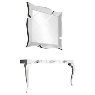 Schueler Console Table and Mirror Set