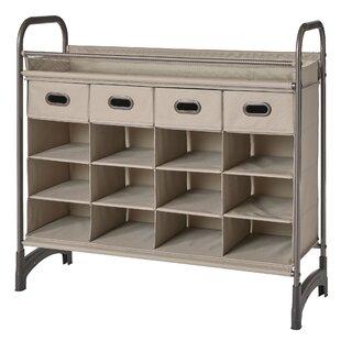 NeatFreak Maximize 16 Pair Stackable Shoe Storage Cabinet