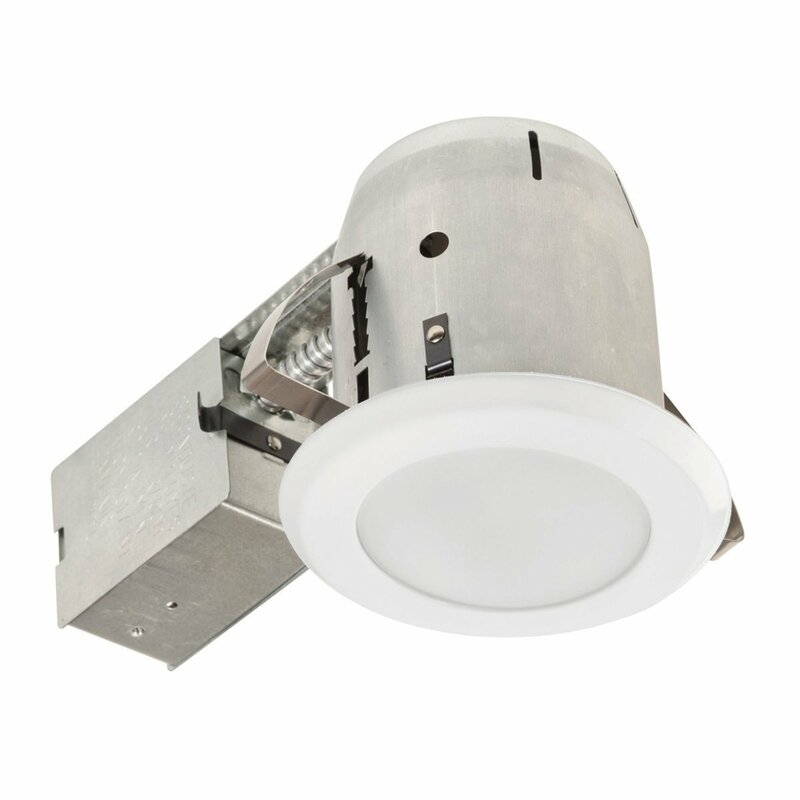 Ic Rated Shower Lens 4 Recessed Lighting Kit