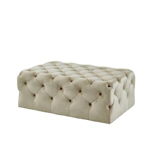 Horning Tufted Cocktail Ottoman