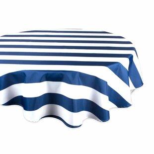 Joelle Cabana Stripe Outdoor Tablecloth
