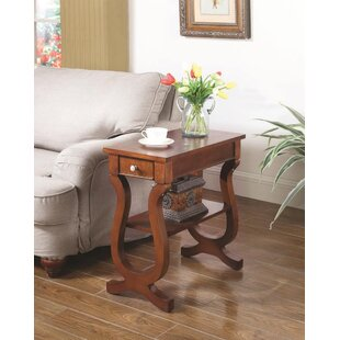 Celia End Table With Storage