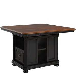 Pedro Wood Kitchen Island by World Menagerie