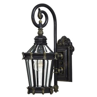 Compare Stratford Hall 1-Light Outdoor Wall Lantern By Great Outdoors by Minka