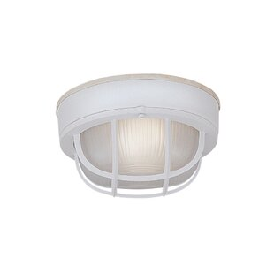 Designers Fountain Bulkhead 1-Light Flush Mount