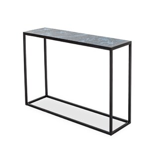Feinstein Glass Console Table